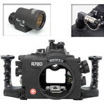 Aquatica A70D Underwater Housing for Canon EOS 70D with Aqua VF and Vacuum Check System (Optical and Nikonos Strobe Connectors)