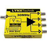 Lynx Technik AG yellobrik Wide Band 1 to 4 Analog Video/Sync Distribution Amplifier