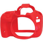 easyCover Silicone Protection Cover for Canon EOS Rebel SL1 (Red)