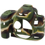 easyCover Silicone Protection Cover for Canon EOS 5D Mark III, 5DS & 5DS R (Camouflage)