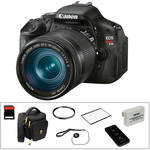 Canon EOS Rebel T3i DSLR Camera Essential Kit with EF-S 18-135mm f/3.5-5.6 IS Lens