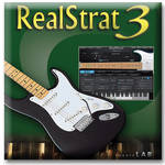 Big Fish Audio RealStrat 3 - Fender Stratocaster Virtual Instrument VST/AU (Download)
