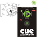 DSAN Corp. PC-AS3-GRN 2-Button Wireless Transmitter with Green Laser for PerfectCue