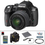 Pentax K-500 DSLR Camera with 18-55mm Lens Deluxe Kit