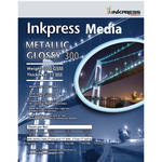 "Inkpress Media Metallic Gloss 300 Paper (8.5 x 11"", 20 Sheets)"