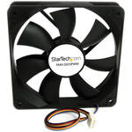 StarTech 120mm Computer Case Fan with PWM Connector (Black)
