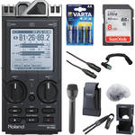 Roland R-26 6-Channel Digital Field Audio Recorder ENG/Interview Kit
