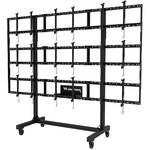 "Peerless-AV Portable Video Wall Cart for 46 to 55"" Displays (2x2, 3x2, or 3x3 Configuration)"