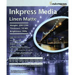 "Inkpress Media Linen Matte Paper (24"" x 100' Roll)"
