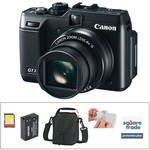 Canon PowerShot G1 X Digital Camera Deluxe Kit