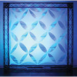 Odyssey Innovative Designs Scrim Werks Diamond Diagonal Square Decor Panel - 16 Piece Set