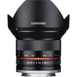 Samyang 12mm f/2.0 NCS CS Lens for Fujifilm X-Mount (Black)
