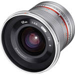 Samyang 12mm f/2.0 NCS CS Lens for Micro Four Thirds Mount (Silver)