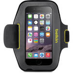 Belkin Sport-Fit Armband for iPhone 6/6s (Blacktop/Limelight)