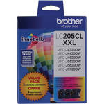 Brother LC2053PKS Innobella Super High Yield XXL Series 3-Color Ink Cartridge Set