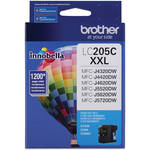 Brother LC205C Innobella Super High Yield XXL Series Cyan Ink Cartridge