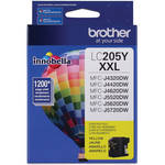 Brother LC205Y Innobella Super High Yield XXL Series Yellow Ink Cartridge