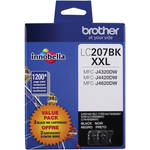 Brother LC2072PKS Innobella Super High Yield XXL Series Black Ink Cartridge (2-Pack)