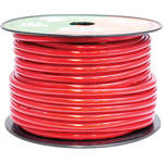 Pyramid 4 Gauge Red Power Wire (100')