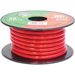 Pyramid 8 Gauge Red Power Wire (25')