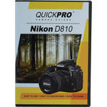 QuickPro DVD: Nikon D810 Instructional Camera Guide