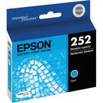 Epson T252 DURABrite Ultra Standard-Capacity Cyan Ink Cartridge