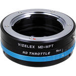 FotodioX Minolta MD Lens to Micro Four Thirds Camera Vizelex ND Throttle Adapter
