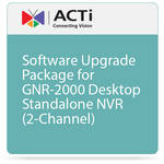 ACTi Software Upgrade Package for GNR-2000 Desktop Standalone NVR (2-Channel)
