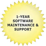 aimetis 1-Year Software Maintenance & Support for E7040A Physical Security Appliance