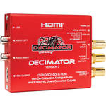 DECIMATOR DECIMATOR 2 3G/HD/SD-SDI to HDMI Converter with Built-In NTSC/PAL Downscaler & Analog Audio Outputs
