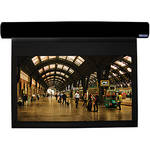 "Vutec L1072-116MWB1 Lectric I 72.50 x 116"" Motorized Screen (Black, 120V)"