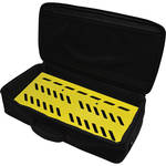 Gator Cases Aluminum Pedalboard with Carry Case (Yellow, Large)