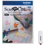 Brother USB No. 2 Applique Pattern Collection for ScanNCut Machines