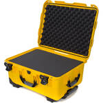 Nanuk 950 Protective Rolling Case with Foam Inserts (Yellow)