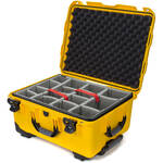 Nanuk 950 Protective Rolling Case with Foam Dividers (Yellow)