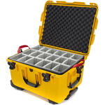 Nanuk 960 Protective Rolling Case with Foam Dividers (Yellow)