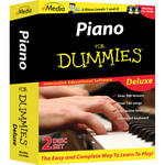 eMedia Music Piano for Dummies Deluxe (Electronic Download, Windows)