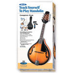 ALFRED Teach Yourself To Play Mandolin Starter Pack - Firebrand Mandolin & Instructional Book