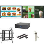 "AOPEN nTAKE Value with Two 42"" LED Monitors Wall-Mounted Digital Signage Kit"