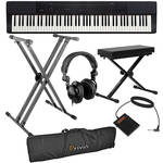 Casio PX-150 88-Key Piano Essentials Bundle (Black)