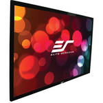 "Elite Screens R345WH1 PLUS ezFrame Plus 169.2 x 300.7"" Fixed Frame Projection Screen"