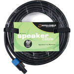American DJ SK5012B Speakon to MDP (Banana) 12 Gauge Speaker Cable (50')