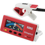 Korg Slimpitch Chromatic Tuner & Contact Microphone (Red White)