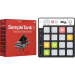 IK Multimedia SampleTank 3 and iRig Keys Pro Controller for Mac and PC