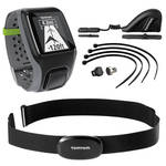 TomTom Multi-Sport GPS Sports Watch with HRM and Cycle Sensor (Dark Gray)