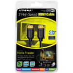 Xtreme Cables 3' High-Speed HDMI Cable With Ethernet