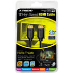 Xtreme Cables 12' High-Speed HDMI Cable With Ethernet