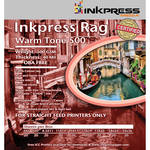 "Inkpress Media Rag Warm Tone 500 Paper (24 x 36"", 20 Sheets)"