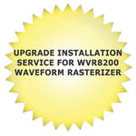 Tektronix Upgrade Installation Service for WVR8200 Waveform Rasterizer