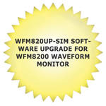Tektronix WFM820UP-SIM Software Upgrade for WFM8200 Waveform Monitor